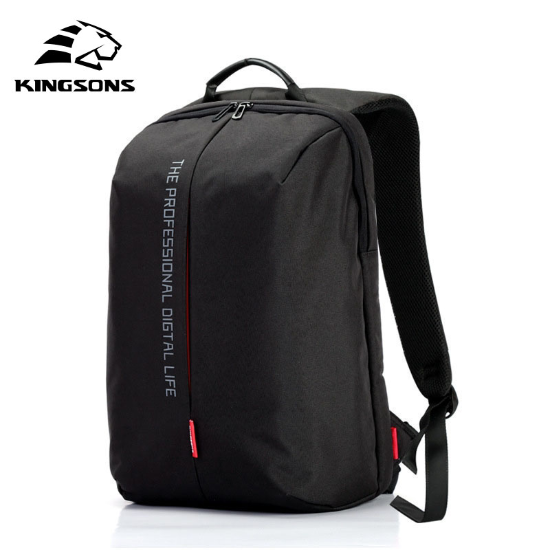 Kingsons Laptop Backpack 15.6 Inch High Quality Waterproof Nylon School Bags for Teenager Business Dayback Men and Women school bags for teenager boys girls school backpacks high quality dropproof nylon men business backpack slim laptop backpack