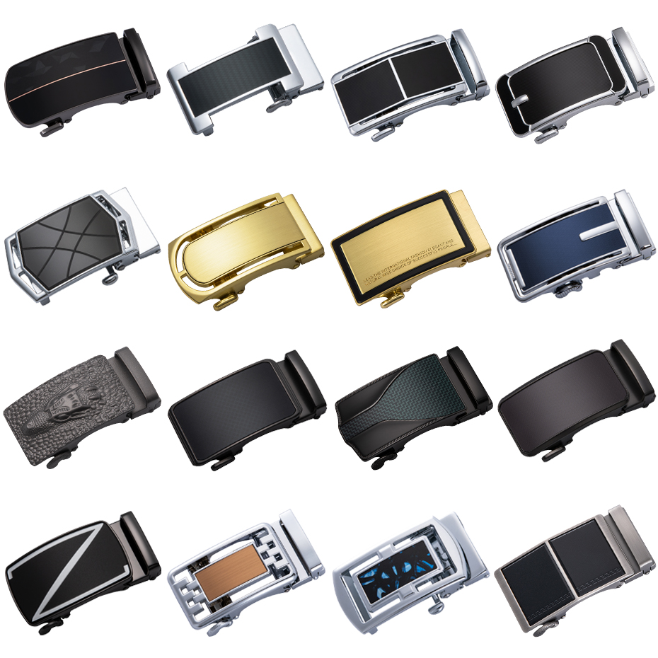 Automatic Buckle   Belt   Adjustable   Belt   Buckle For Mens All-Purpose Style Automatic Buckles Fashion Set