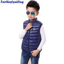 Childrens Clothing Boys Cartoon Waistcoats Kids Autumn Cotton Vests Girls Sleeveless Jackets Spring Coats