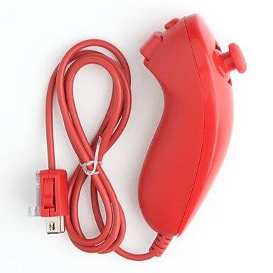 Rouge couleur NUNCHUCK CONTRÔLEUR À DISTANCE POUR NINTEND Wii rouge nunchunk télécommande