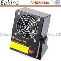 FS 443 Mini DC Lonizing Air Blower DC Lonizing Air fan Eliminate Static electricity Elimination fan Antistatic ionizer blower