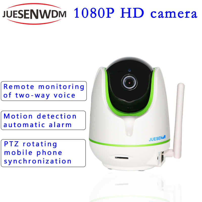 JS IP Camera 1080P WiFi Wireless CCTV Security Camera Two Way Audio Baby Monitor Night Vision Camera camera 360 p2p ip 1080p wifi wireless security ip camera p2p pan tilt two way audio