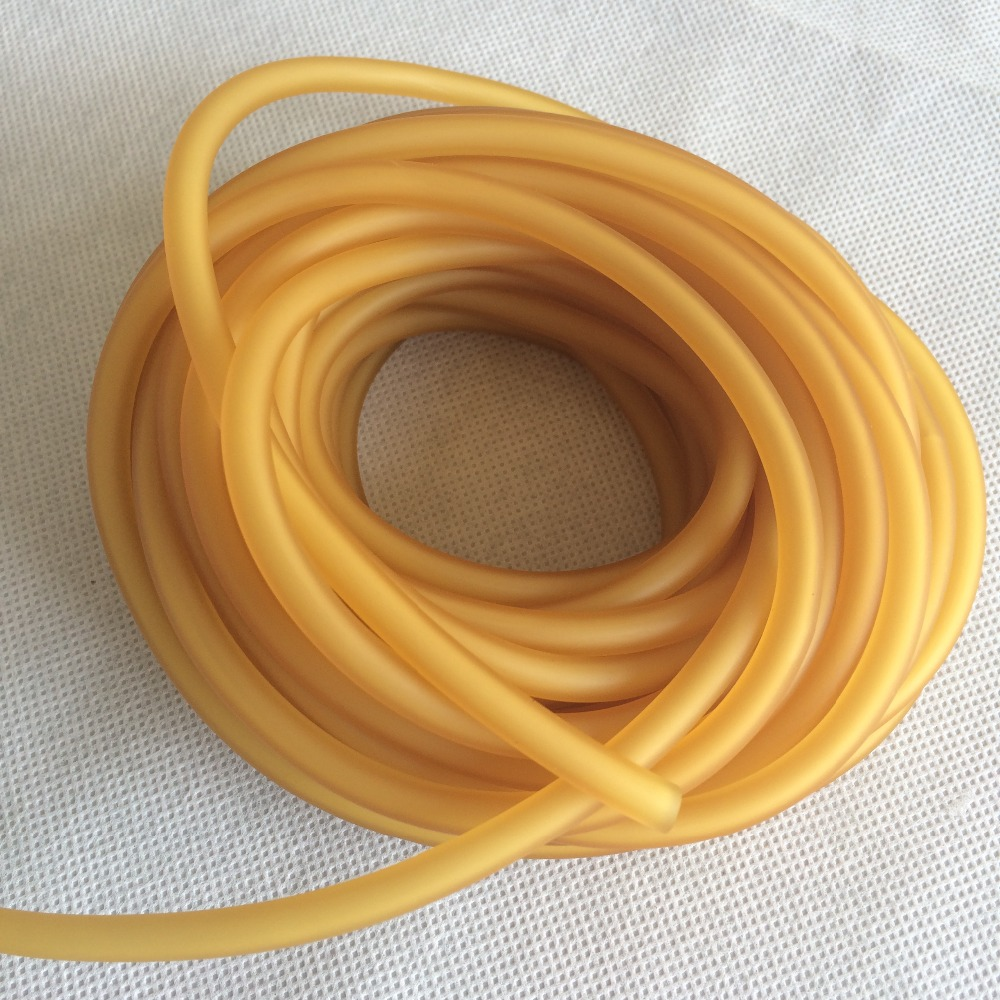10M/Bag 3060 OD6MM and ID3MM Hunting Catapult Shooting Slingshot Rubber Tube Rubber Banding Strap AH35