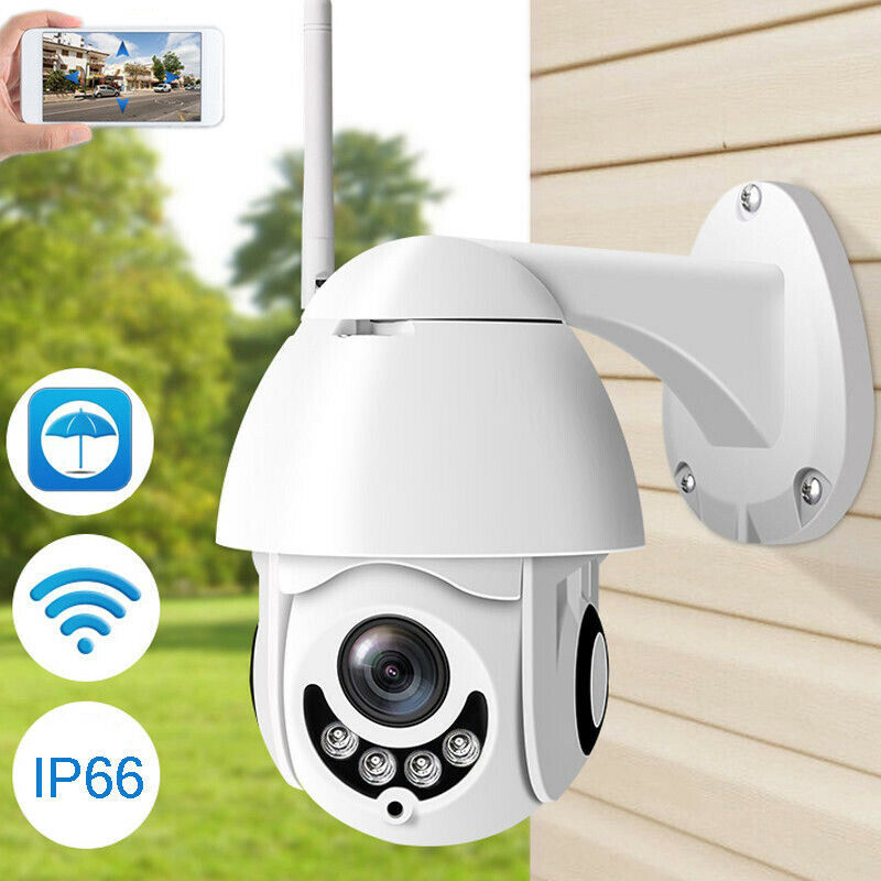 WIFI Camera Outdoor PTZ IP Camera H.265X 1080p Speed Dome CCTV Security Cameras IP Camera WIFI Exterior 2MP IR Home Surveilance