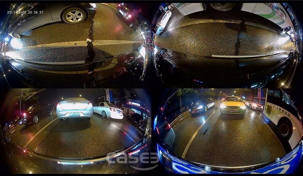 Car surround view camera system 360 degree Bird eye device Panoramic 4 way DVR-31