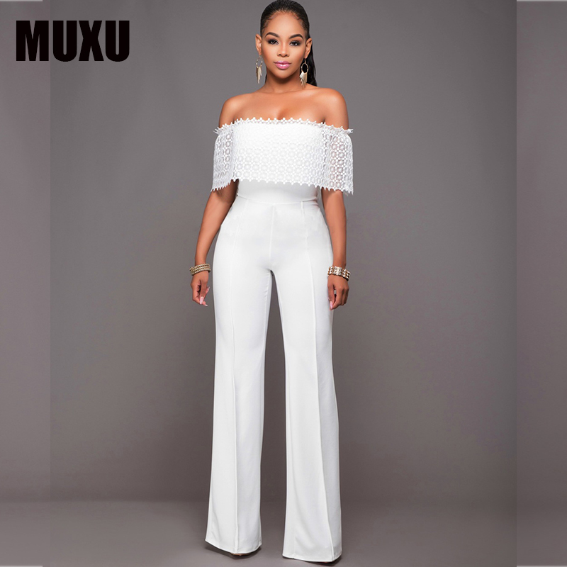 910aaabb4b90 ... Feedback Questions about MUXU white jumpsuit body sexy jumpsuits for  women europe and the united states jumpsuits body suits for women bodysuits  romper ...