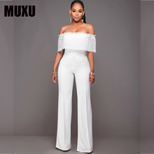 MUXU white jumpsuit body sexy jumpsuits for women europe and the united states jumpsuits body suits for women bodysuits romper цена и фото