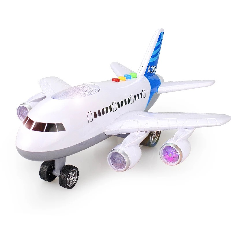 128128 Men children's toy plane supersized the a380 airbus 3-6 years old model of the baby passenger plane 36cm and 29cm supersized book of sudoku