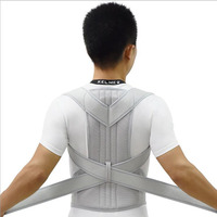 Pain Relief Improve Bad Slouching Problems Fully Adjustable Clavicle Medical Belt Straightener Posture Corrector for Women Men
