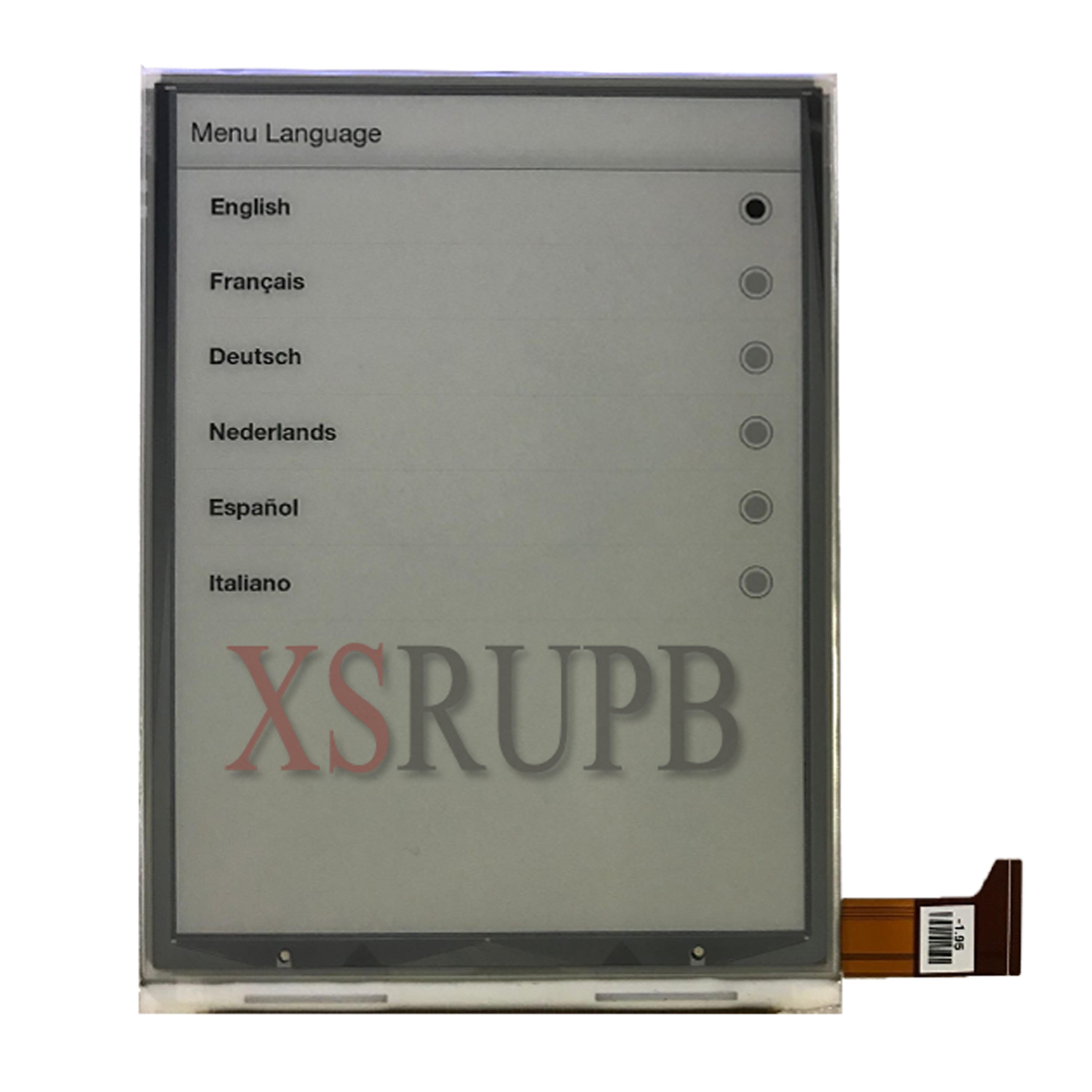 6.0 дюйма Экран для WOXTER Скриба 195 ЖК-дисплей Дисплей Planel Экран электронная книга для чтения электронных книг Замена Бесплатная доставка
