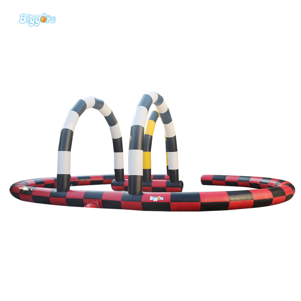 8*6m Inflatable Air Track For Sale Inflatable Race Track For Race Cars inflatable zorb ball race track pvc go kart racing track for sporting party
