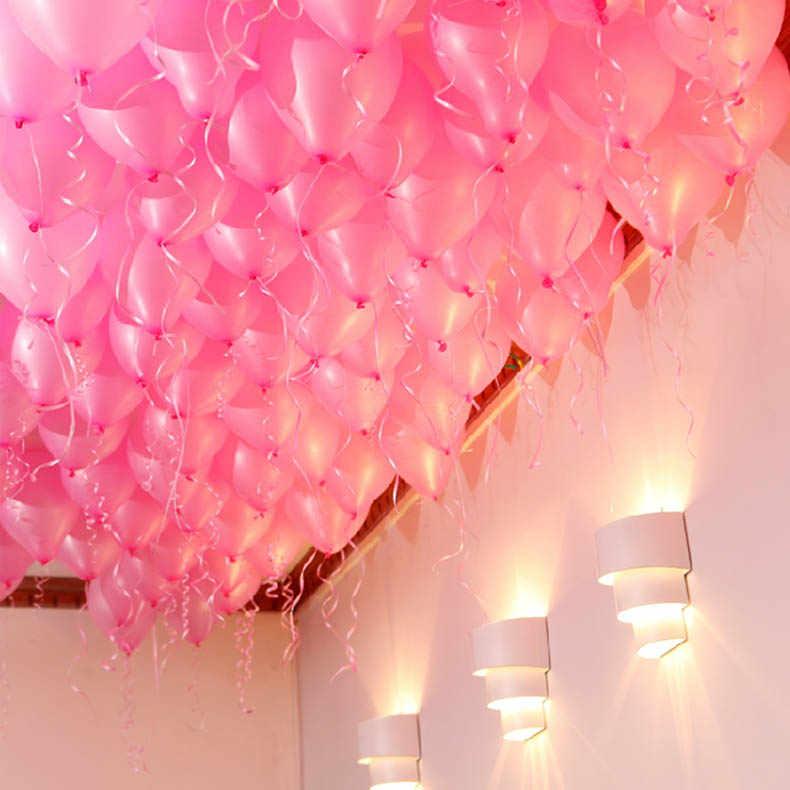 حار 100 نقطة بالون مرفق الغراء نقطة إرفاق البالونات إلى السقف أو الجدار بالون ملصقات عيد ميلاد ديكور حفلات الزواج
