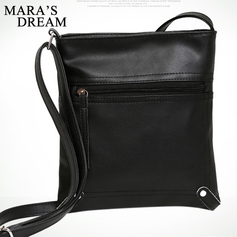 Maras Dream Fashion 2018 Designers Women Messenger Bags Females Bucket Bag Leather Crossbody Shoulder Bag Bolsas Femininas