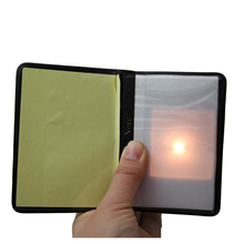 цена Light Prediction Holder (Charged Version) Magic Tricks Optical Prediction Wallet Magic Props Close Up Magic Mentalism Comedy онлайн в 2017 году