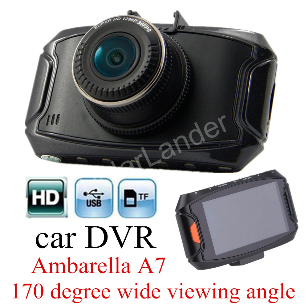 ФОТО best selling G90 car camera recorder Ambarella A7 Dash cam HD 2.7 inch screen 170 degree Wide viewing angle Car DVR