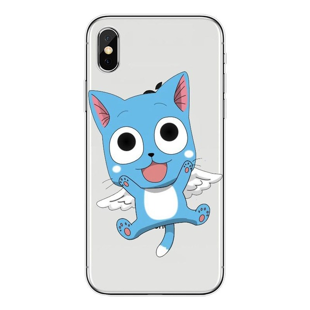Fairy Tail transparent Phone Case for Iphone