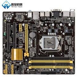 Asus B85M-E Intel B85 оригинальная материнская плата для настольных ПК LGA 1150 Core i7/i5/i3/Pentium/Celeron DDR3 32G Micro ATX