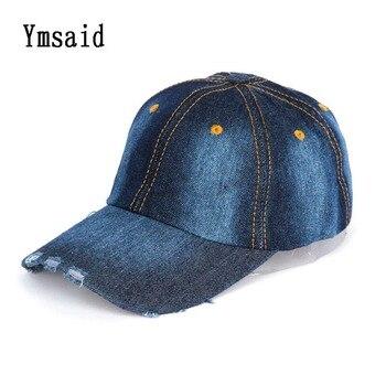 248c927a8 Alta calidad niño SnapBack Denim Cappello gorra de béisbol para Niños Niñas  solid familia vaquero Sombreros gorras planas Hip Hop