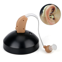Rechargeable Ear Hearing Aid Mini Device Sordos Ear Amplifier Digital Hearing Aids In The Ear For