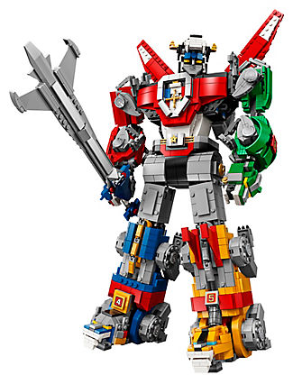 16057 Ideas Series Voltron Defender of The Universe Model Building Block Bricks Toys Compatible with Legaoed
