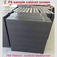 768*768 мм P8 простой шкаф SMD Полноцветный светодио дный экран, 4S, 15625 точек/m2