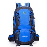 40L Outdoor Camping Backpack Travel Sports Bag Large Capacity Men Rucksack Hiking Climbing Traveling Packs Athletic Computer Bag
