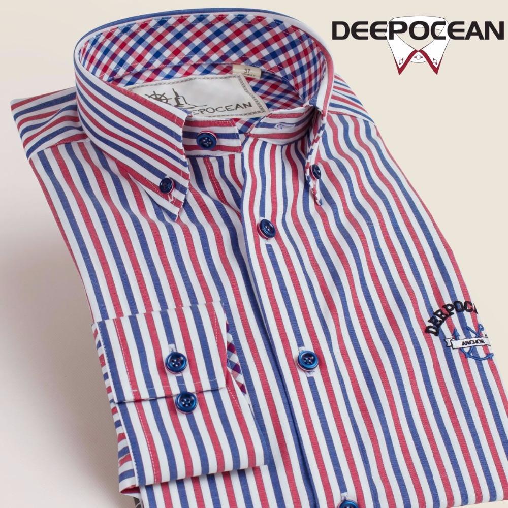 Soft Striped Men Shirts Fashion Shirt Long Cotton Shirts Slim Fit Big Size Business Shirt Men Tops Hombres Camisas DX56654L