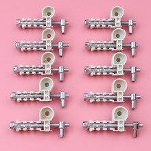10 ชิ้น/ล็อต Chain Adjuster สกรู Kit สำหรับ Stihl MS180 MS170 018 017 MS 180 170 ลูกโซ่อะไหล่สวนเครื่องมือส่วน