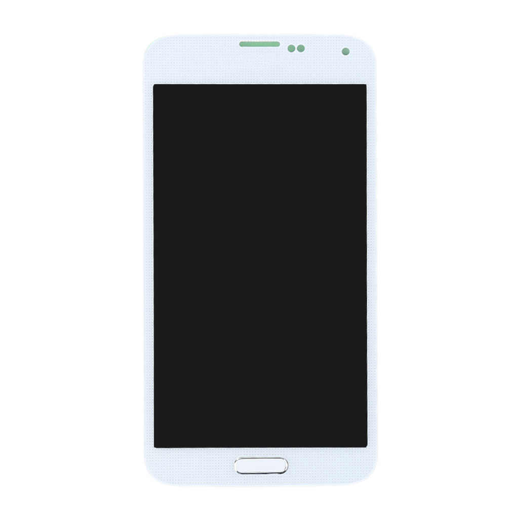 G900F LCD untuk Samsung S5 Layar LCD G900M G900A G900T G900FD Display Digitizer Layar Sentuh untuk Samsung Galaxy S5 Tampilan