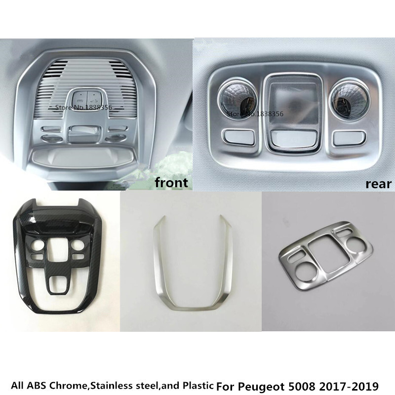 Hot sale For Peugeot 5008 2017 2018 2019 font b car b font styling cover detector