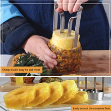 High Quality Stainless Steel Pineapple Slicer Fruit Cutting Tool Kitchen Cutter Gadget Knife Peeler