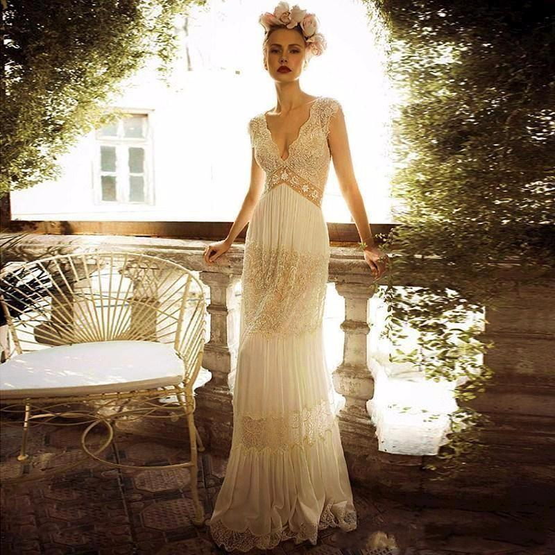 Compare Prices on Vintage Wedding Dresses Size 14- Online Shopping ...