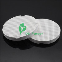 8pcs Honeycomb Round Firing Trays with 80 Zirconia Pins For Dental Lab