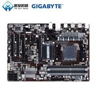 Original Verwendet Desktop Motherboard Gigabyte GA 970A DS3P AMD 970 Buchse AM3 AM3 + FX Phenom II Athlon II DDR3 32G SATA3 USB3.0 ATX-in Motherboards aus Computer und Büro bei