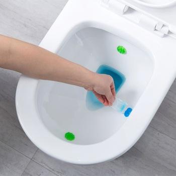 Toaletowy żel oczyszczający Detergent odświeżacz dezodorant trwały aromatyczny Detergent domowy środek do czyszczenia toalet odświeżacz dezodorant tanie i dobre opinie 1 pc Żel 80 ml 3 5 x 6 5cm Random Color toilet cleaner toilet cleaning gel toilet detergent household toilet cleaners toilet freshener