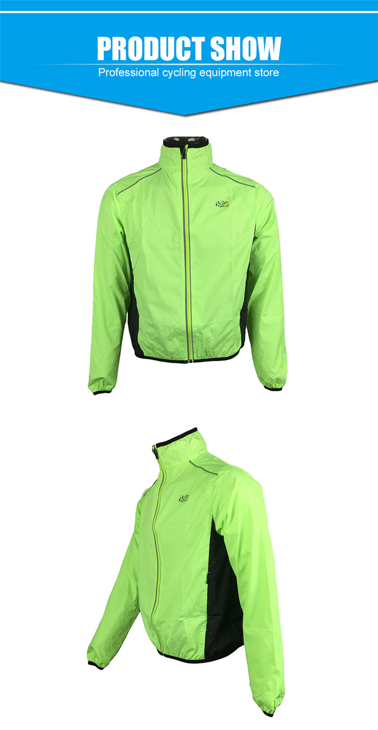5 BESTGIA Hot Selling Ultra-light Tour De France Bicycle Jacket Bike Windproof Raincoat Road Track MTB Aero Cycling Wind Coat Men Clothing