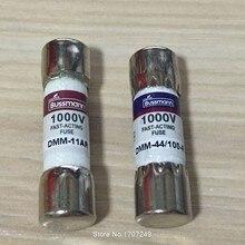 Fusível bussmann novo DMM-B-11A + DMM-B-44/100 11a 44ma 1000vac/dc buss fusível para fluke multímetro bussmann DMM-11AR + DMM-44/100-r