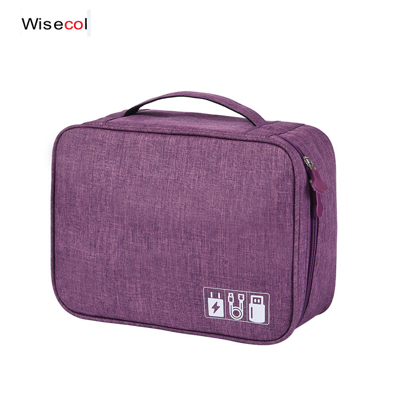 New Digital Bag Storage Bag Multi-function Data Cable Storage Bag Mobile Power Mobile Phone Storage Box