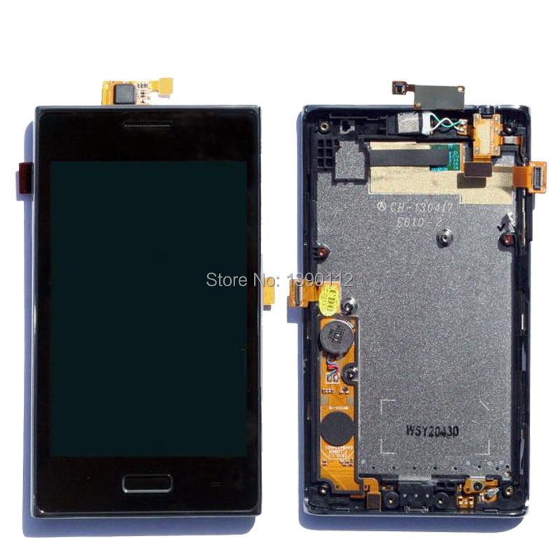 OEM For LG Optimus L5 E610 LCD Display Touch Lens Digitizer Screen Assembly + Frame OEM