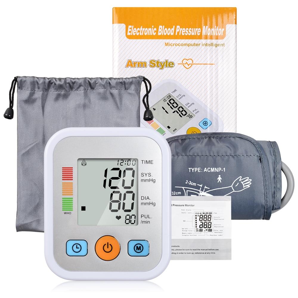 Hohe Qualität Home Health Care Digitale Oberen Arm Blutdruck Monitor blutdruckmessgerät Tonometer für Mess Automatische Meter