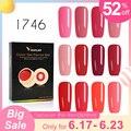 Venalisa Gel laca 5 ml 180 colores puros remojo LED UV Gel DIY francés CANNI Gel de uñas pintura de Gel de Color barniz