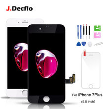 For iPhone 7 Plus LCD Display Touch Screen Digitizer Assembly Replacement For Apple 7 Plus No Dead Pixel with gifts недорго, оригинальная цена