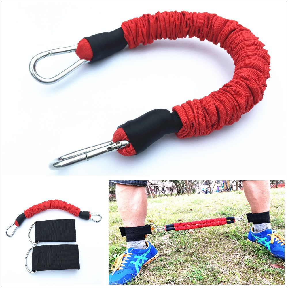 Πλευρική αντίσταση ζώνες αντοχής Trainer Rope Crossfit Leg Training Training Exander Band Pull Rope Fitness
