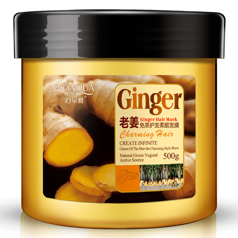 купить 500g Adequate Moisturizing Surplus Embellish Hair Lock Water Curing Ginger Hair Mask Hair Film по цене 869.69 рублей