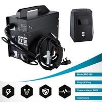 MIG 100 High Efficient Gas Shielded Welding Machine Professional DIY Stable Mig Weldering Equipment UK Plug