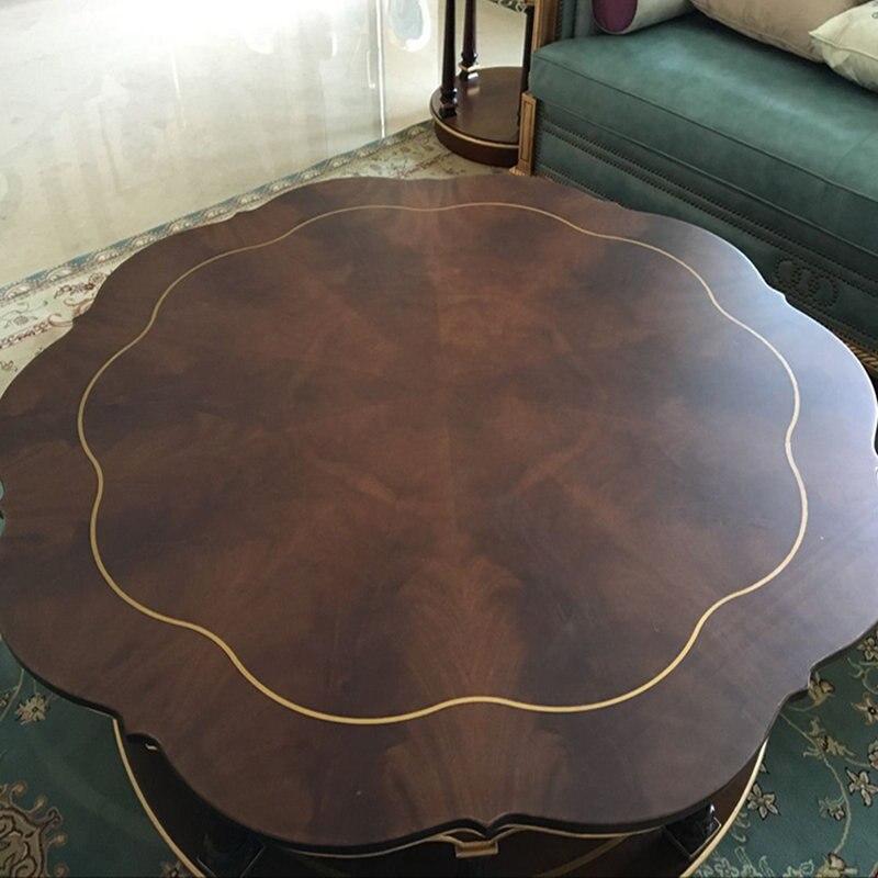 1.52x10 m Transparent mat marbre meubles autocollant transparent en bois massif table à manger film de protection 60''x33ft