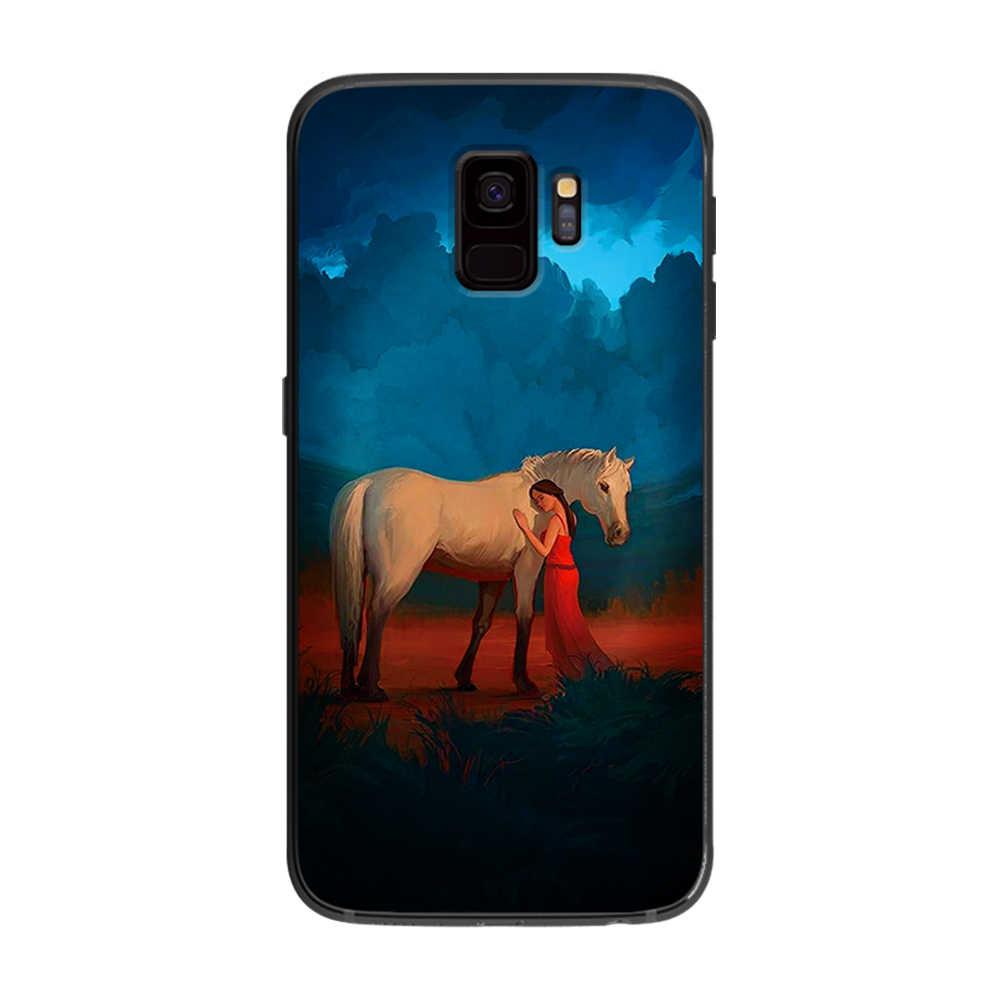 чехлы на телефон с картинкой коня эту тусовку съезжаются