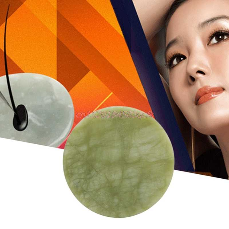 หยกลื่นแผ่นกาวกาวแท่นวางสินค้ารอบประดิษฐ์หินหยก False Eyelash Extension แต่งหน้าเครื่องมือขายร้อน