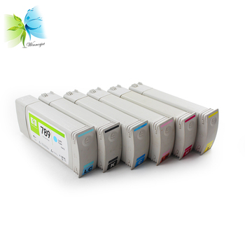 Winnerjet 6 color 775ml para HP 789 cartucho de tinta de látex remanufacturado completo para impresora HP Designjet L25500