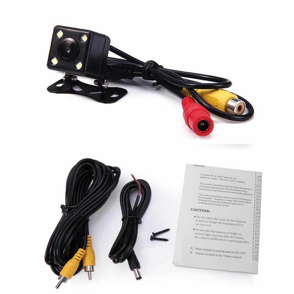 Универсальная автомобильная парковочная камера, задняя камера с обратным изображением, HD cmos, резервная камера, водонепроницаемая, ночное видение, 8 светодиодный светильник